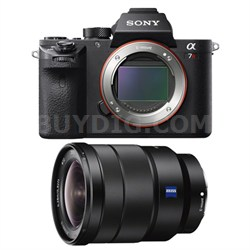 a7R II Mirrorless Interchangeable Lens Camera Body with 16-35mm Lens Bundle