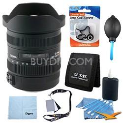 AF 12-24mm F4.5-5.6 II DG HSM for Canon EOS DSLRs - Pro Lens Kit