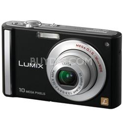 DMC-FS20K(Black) 10MP DigitalCamera w/3-inch LCD & 4x Optical Zoom-Refurbished