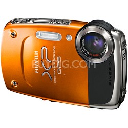 FINEPIX XP30 14 MP Waterproof Digital Camera w/ Fujinon 5x Zoom Lens (Orange)