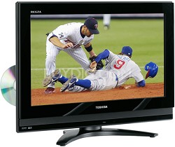 "26LV67 - REGZA 26"" High-definition LCD TV w/ built-in DVD Player"