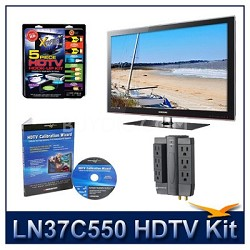 LN37C550 HDTV + High-performance Hook-up Kit + Power Protection + Calibration