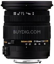 17-50mm f/2.8 EX DC OS HSM FLD Zoom Lens for Nikon Digital DSLR Camera OPEN BOX