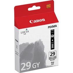 PGI-29 GY - LUCIA Series Gray Ink Cartridge for Canon PIXMA PRO-1 Printer