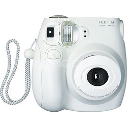 instax mini 7S Instant Print Camera (White)