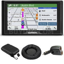 Drive 50 GPS Navigator (US and Canada) 010-01532-08 Case, Mount, Charger Bundle