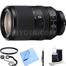 FE 70-300mm F4.5-5.6 G OSS Full-frame E-Mount Lens SEL70300G Accessory Bundle