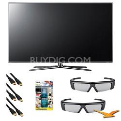 UN55D7000 55 inch 1080p 240hz 3D LED HDTV 3D kit