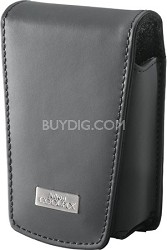 Large Leather Case for Coolpix S series Digital Cameras: S640, S630, S570, S70