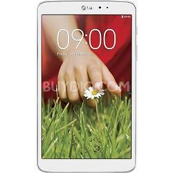"G Pad V 500 16GB 8.3"" WiFi White Tablet - Qualcomm Snapdragon 1.7 GHz Processor"