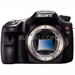 SLTA65V - a65 Digital SLR Camera 24.3 MP Body Only - OPEN BOX
