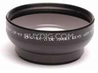 Pro .43x Wide Angle Lens w/ Macro 52mm threading (Black)