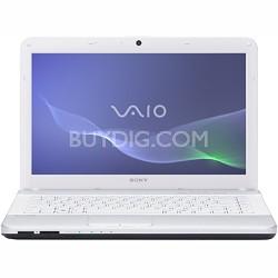 """VAIO VPCEG25FX - 14.0"""" Laptop Core i5-2430M (White)"""