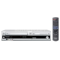 DMR-EZ37S Progressive DVD/VCR Combo Recorder (Silver) w/ DV Input