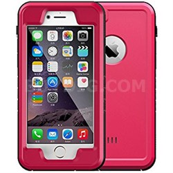 "Pink 4.7"" Shock Resistant Waterproof Case for Apple iPhone 6/6S"