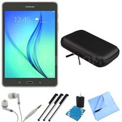 Galaxy Tab A SM-T350NZAAXAR 8-Inch Tablet (16 GB, Smoky Titanium) Bundle