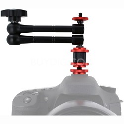 """11"""" Articulating Variable Friction Adjustable Arm w/ Hot Shoe Adapter (VGF11)"""