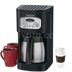 Brew Central 10-Cup Programmable Thermal Coffeemaker (Black) Copco To Go Cup Bun
