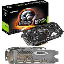 GeForce GTX 980 6GB GDDR5 Edition Graphics Card - GV-N98TXTREME-6GD