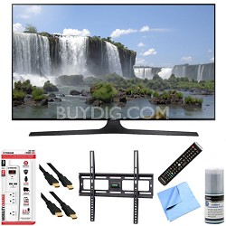 UN60J6300 - 60-Inch Full HD 1080p 120hz Slim Smart LED HDTV Hook-Up Bundle