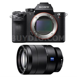 a7R II Mirrorless Interchangeable Lens Camera Body with 24-70mm Lens Bundle