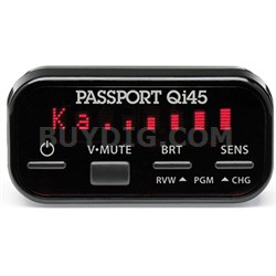 Passport QI45 Installed Unit Radar