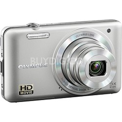 VG-160 14MP 5x Opt Zoom Silver Digital Camera - Silver