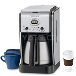 DCC-2750 - Extreme Brew 10-Cup Thermal Programmable Coffeemaker Copco To Go Cup
