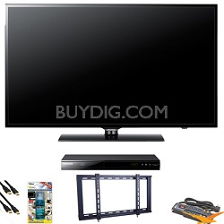 UN55EH6000 55 inch 240hz LED HDTV Blu Ray Bundle