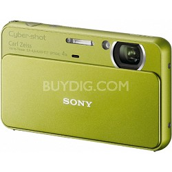Cyber-shot DSC-T99 14MP Green Touchscreen Digital Camera