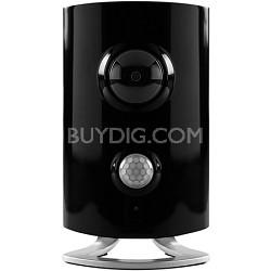 HD Video Monitoring Wireless Security Camera Surveillance System Hub (Black)