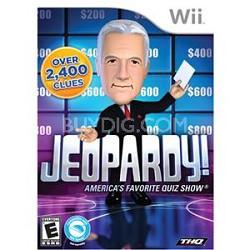 Jeopardy ! For Nintendo Wii