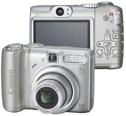 PowerShot A580 Digital Camera  - REFURBISHED