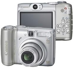 PowerShot A580 Digital Camera  - REFURBISHED