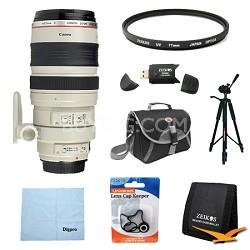 EF 100-400mm 4.5-5.6 Image Stabilizer USM Lens Exclusive Pro Kit