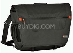 Messenger Factor M Computer Bag--Fits Most 14-Inch Laptops (Black)