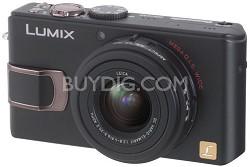 """DMC-LX2 (Black) Lumix 10.2 megapixel Digital Camera w/ 2.8"""" TFT LCD"""