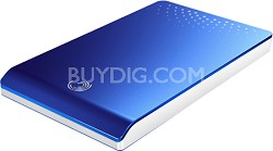 FreeAgent Go 320 GB USB 2.0 Portable External Hard Drive (Blue)
