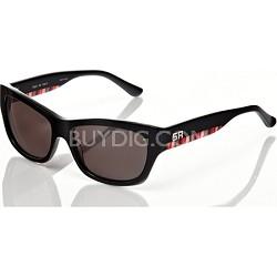 Sonia Rykiel Black Sunglasses with Multi Color Arm