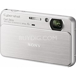 Cyber-shot DSC-T99 14MP Silver Touchscreen Digital Camera