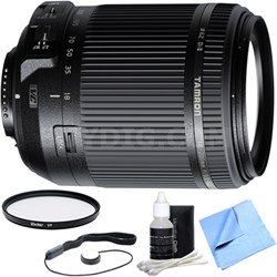 18-200mm Di II VC All-In-One Zoom Lens for Nikon Mount w/ UV Filter Bundle