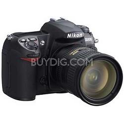 D200 Digital SLR Camera w/ 18-70mm f/3.5-4.5G ED-IF AF-S DX Zoom Lens