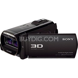HDR-TD30V Full HD 3D Camcorder w/ GPS and 20.4MP stills - OPEN BOX