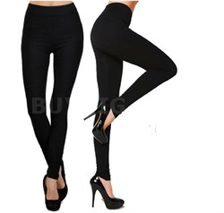 Women's Fleece lined Leggings Stretchy Slim Fit Tights Pants