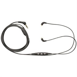 Music Phone Cable with In-Line Remote + Mic (CBL-M+-K-EFS)