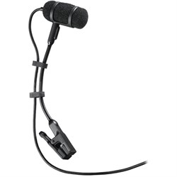 Cardioid Condenser Clip-On Microphone (ATM350)
