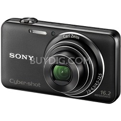 "DSC-WX50/B - 16.2MP CMOS Sensor 5X Optical Zoom 2.7"" LCD (Black) - OPEN BOX"
