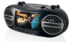 "BD707B Portable DVD Boom Box With a built-in 7"" LCD screen"