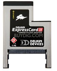 ExpressCard 54 Compact Flash adapter w/ 2-Year Warranty