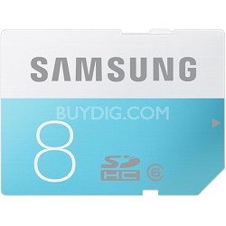 8GB SDHC Upto 24MB/s Class 6 Memory Card